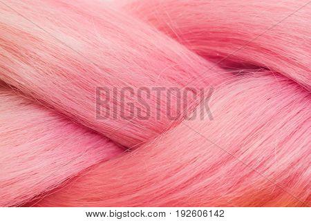 Pink Kanekalon Texture