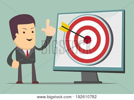 Arrow up Icon Success Increase Concept For use in presentations. Vector