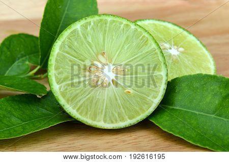 Green And Fresh Lemon
