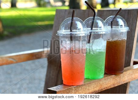 cheap summer street ice color sweet drink