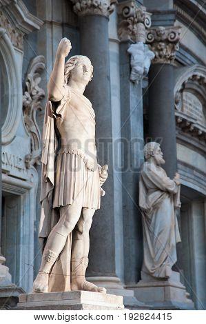 Landmarks Of Catania