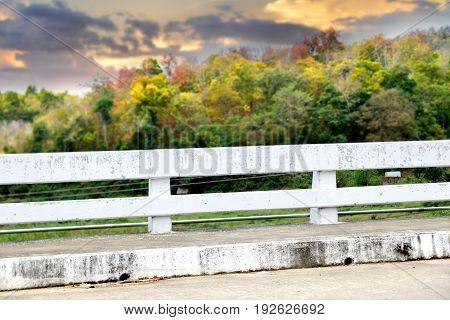 The White Cement Rail Brigde