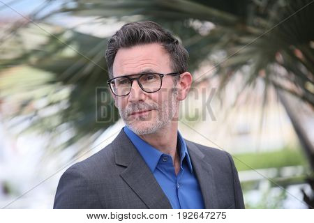 Michel Hazanavicius attends the 'Redoutable (Le Redoutable)' photocall during the 70th Cannes Film Festival at Palais on May 21, 2017 in Cannes, France.