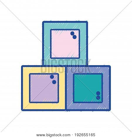 baby games element to child learn vector illustration