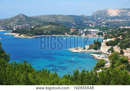 Dalmatic Coast in Croatia, Europe