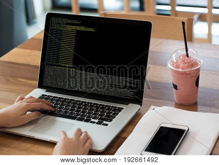 Code Focus On Programming Code Coding  Php Html Coding Cyberspace