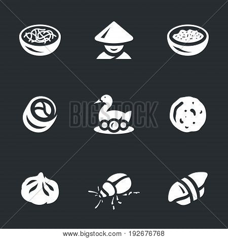 Noodles, Asian, rice, rolls, Peking duck, rice cake, manti, insect, sushi. poster