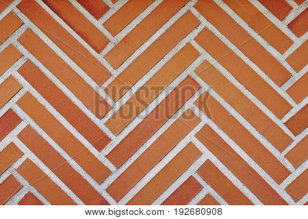 Brick wall background. Architecture detail. Construction industry. Horizontal