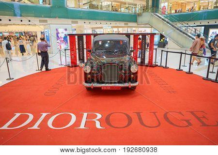 HONG KONG - CIRCA SEPTEMBER, 2016: installation at New Town Plaza in Hong Kong. New Town Plaza is a shopping mall in the town centre of Sha Tin in Hong Kong.