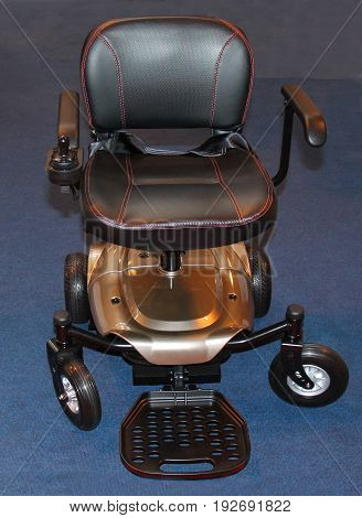 A Lightweight Disability Four Wheeled Electric Wheelchair.