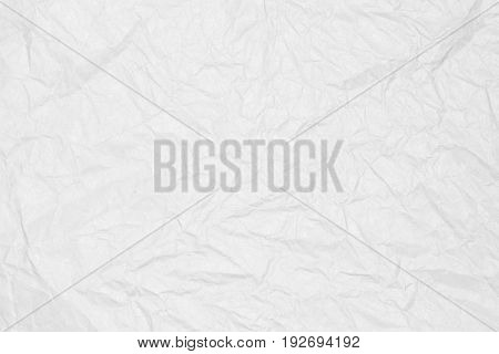Recycled crumpled white paper texture, paper background for business, education and communication concept design.