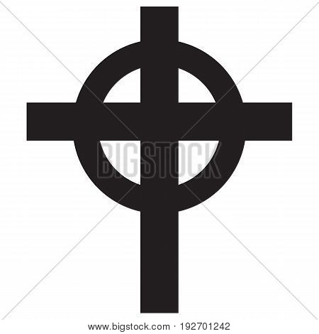 Cross Christian Religion Symbol shape cross vector