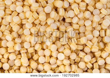 Raw cous cous background