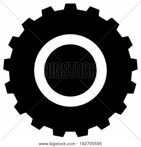 Gearwheel, Gear Icon. Settings, Configuration, Developement, Progress-process Concept Icon