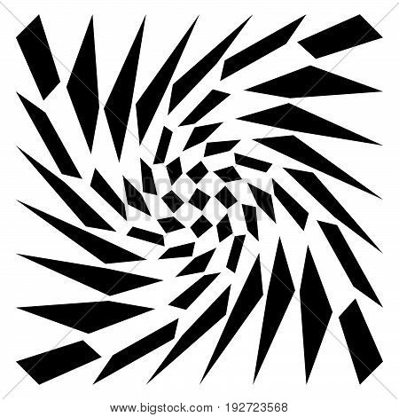 Distorted Mesh, Grid Geometric Element. Irregular Mosaic Visual Element