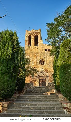 Sant Pere De Pals Church. Girona, Spain.