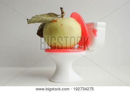 Natural Laxative. Natural. Apple