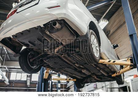 Car In Autoservice