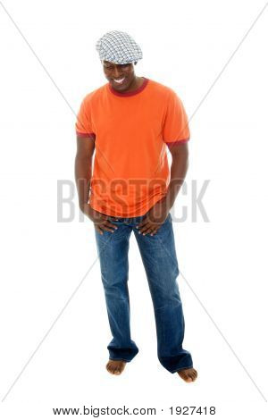 Casual Man In T Shirt And Jeans 3