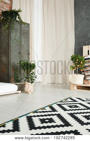 White And Green Design
