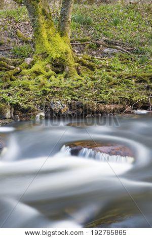 River Rur Long Exposure, Germany