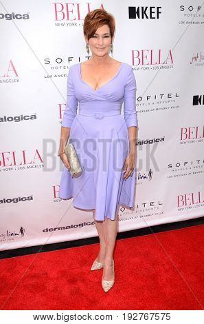 LOS ANGELES - JUN 23:  Carolyn Hennesy at the BELLA Los Angeles Summer Issue Cover Launch Party at the Sofitel Hotel on June 23, 2017 in Los Angeles, CA