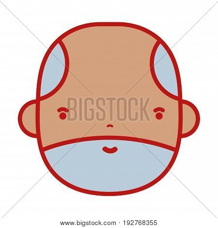 nice businessman to kawaii avatar vector illustration