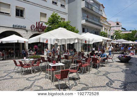 Aveiro, Street Cafe, Portugal