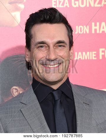 LOS ANGELES - JUN 14:  Jon Hamm arrives for the