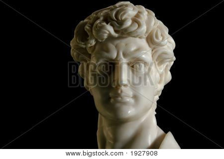 Replica Of David In Marble