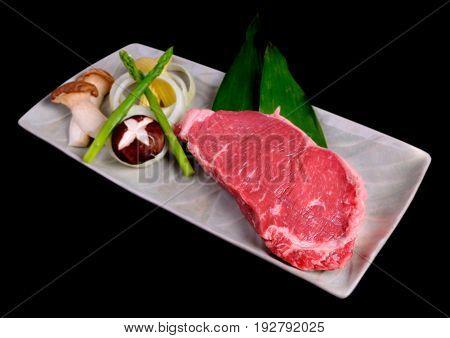 Beef Steak Set