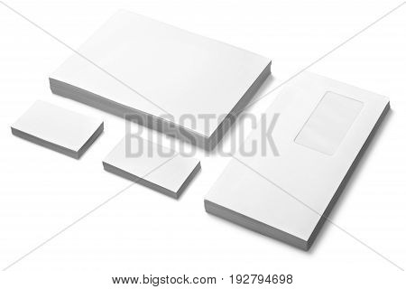Blank color image group white striped computer