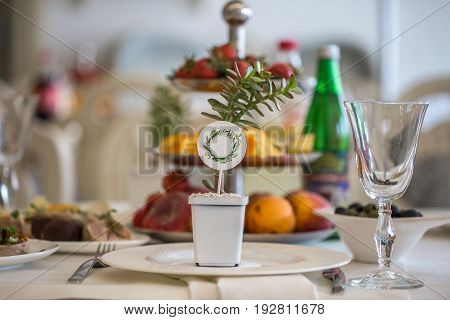 The Table Decorations