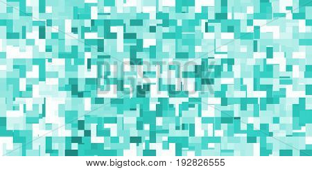 Colorful Pixel Pattern Seamless Background Art