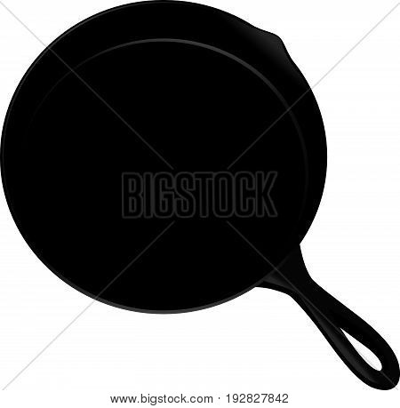 Pan perfect for cooking steaks vegetables and more. It can be used in the oven or over a stove or campfire