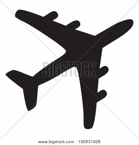 Airplane Icon air aircraft airline airliner airplane