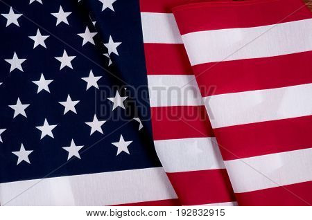 United States Flag.  American Symbol. Independence Day.