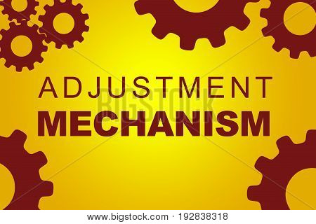 Adjustment Mechanism Concept