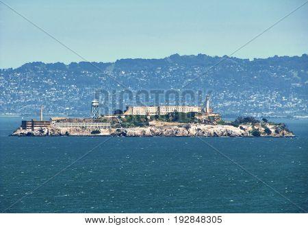 The famous prison by Alcatraz Island - San Francisco