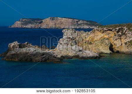 Summer vacation in the Tremiti Islands, Puglia