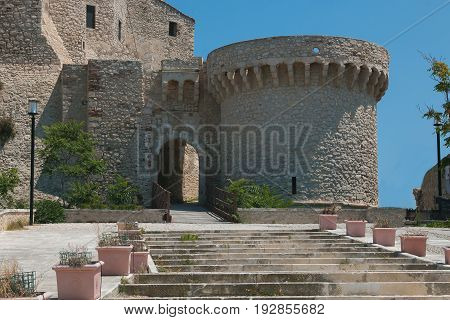 Badiali castle in the San Nicola island, Tremiti
