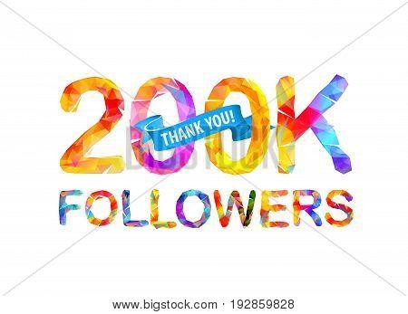 200K Followers. Thank You!