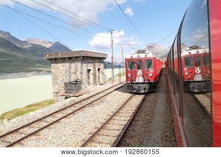 Bernina Express Train
