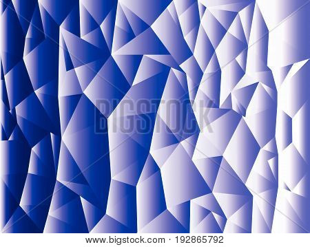Abstract color triangle geometrical background, polygon design. Triangular mosaic background