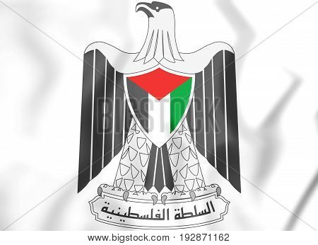 Palestinian National Authority Coat Of Arms.