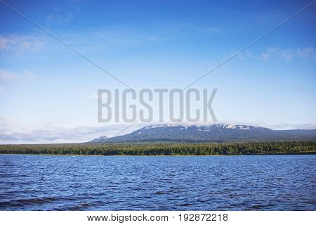 Lake Zyuratkul. Ural. Russia