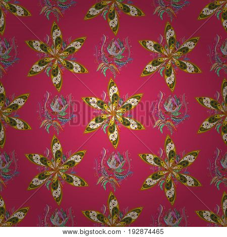 Vector textile print for bed linen jacket package design fabric and fashion concepts. Seamless pattern with flowers. Floral watercolor seamless background.