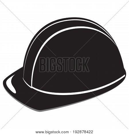 Builder Hardhat worker vector men illustration reflective clothing