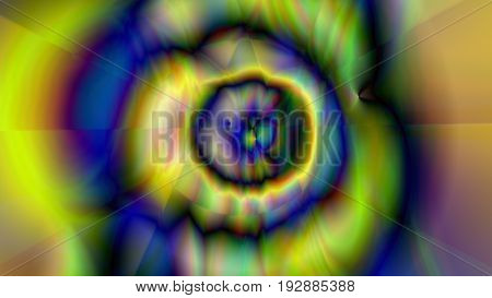 Abstract Background With Psychedelic Art