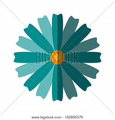 isolated flower icon image vector illustration design